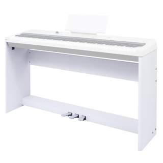 ฐานวางเปียโน The ONE Wood Stand White