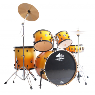 กลองชุด Echoslap Essential Series สี Cherry Burst