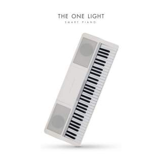 The ONE Light Keyboard รุ่น TOK1WH สีขาว
